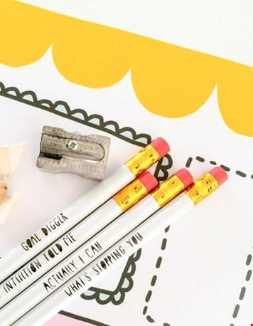 Goodie goodies: deze potloden