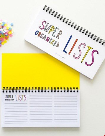 Handig lijstjes-boekje