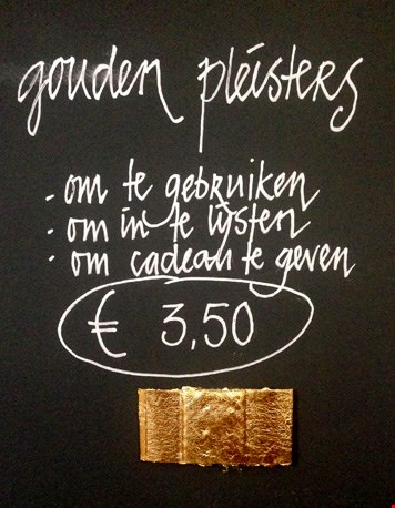 Gouden pleisters...