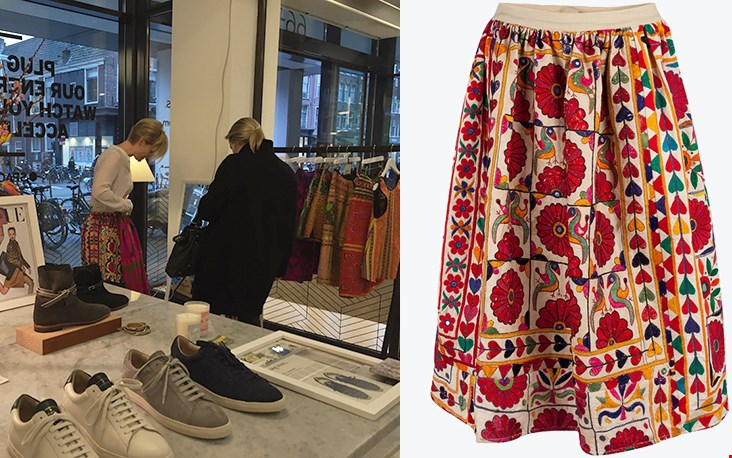 Een andere ontdekking van Marjolein: de kleding van Mochi