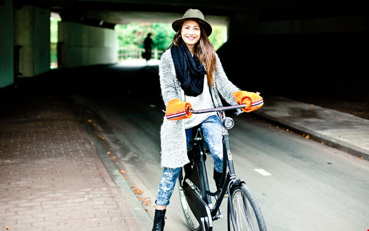 Nooit meer koude handen op de fiets!