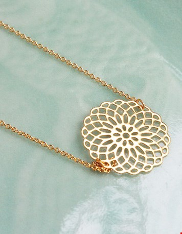 Flower of Bliss necklace