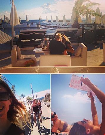 Brainstormen op Mallorca...