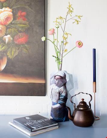 Paper Vase met het Melkmeisje