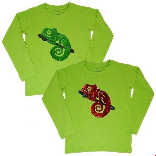 T-shirt kameleon