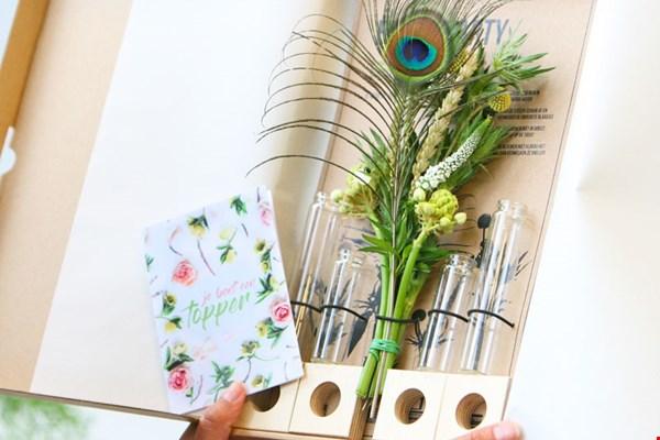 Bloompost party brievenbus bloemen Flavourites