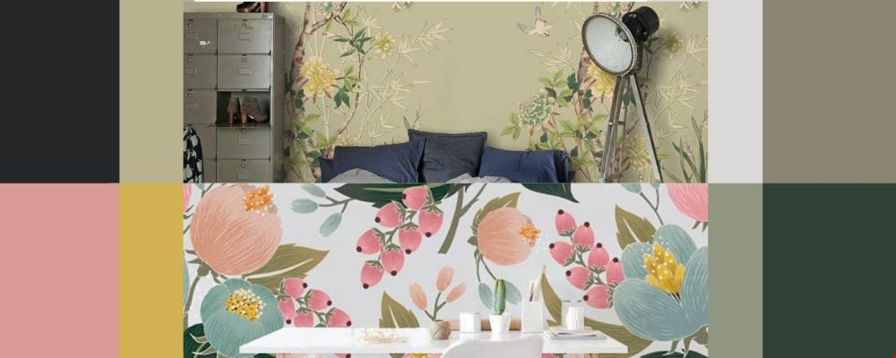 Behang Avalon design en Marzipan days