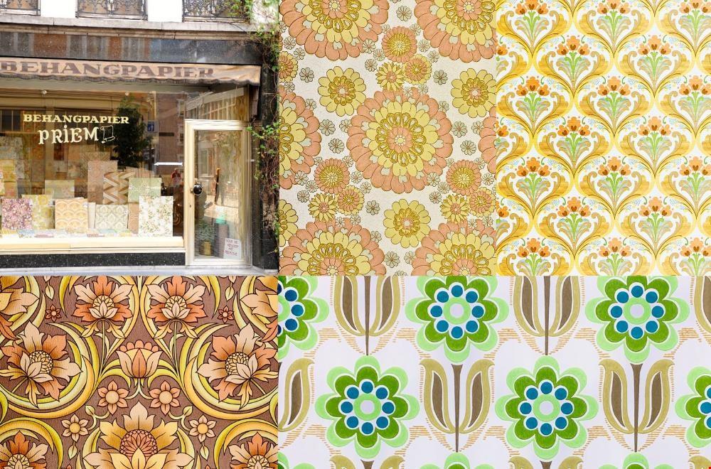 Behangwinkel Priem en behang van Vintage Wallpapers