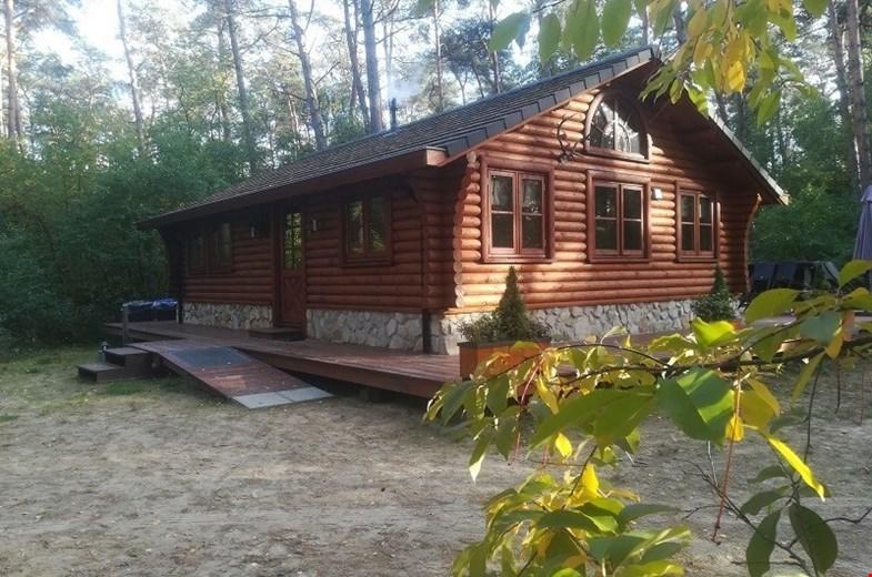 Op vakantie in een Canadese lodge - maar dan in  Twente