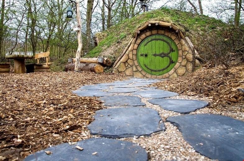 Nieuw-Zeelands hobbithuisje in Castricum