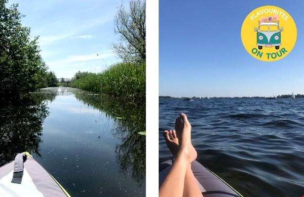 Vlakbij Amsterdam, kanoën midden in de natuur