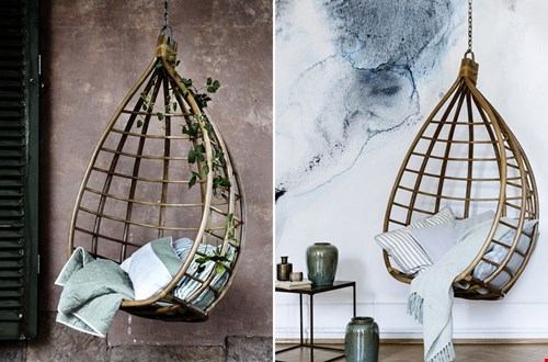 Prachtige hangstoel van Broste Copenhagen