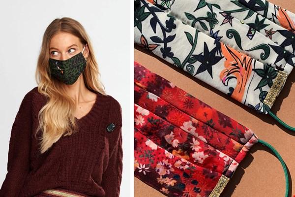 Deze mondkapjes matchen met je outfit