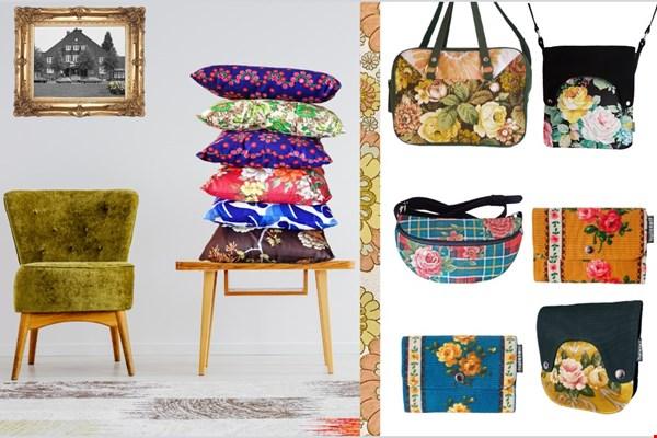 Kussens, tassen, portemonnees van Huisteil Creaties via Zilte.nl