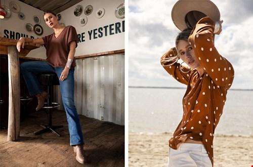 Elementsoffreedom duurzame blouse met stippen Flavourites