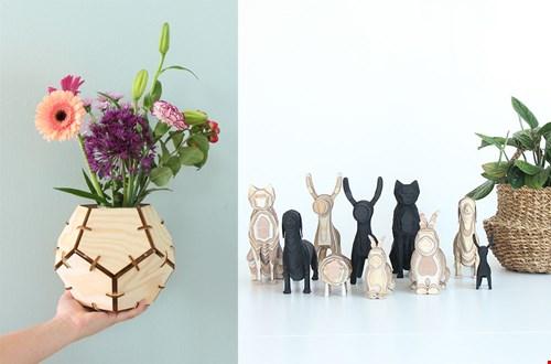AIYMES wooden handcrafted hout handgemaakt design woonaccessoires Flavourites