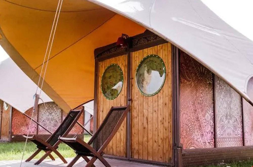 Camping Kallumaan bij Netl