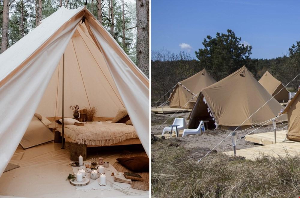 Boetiek-tenten van Little Canvas Escape