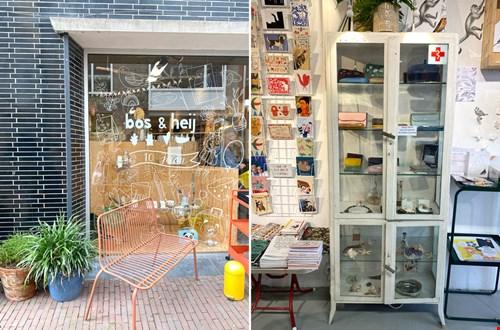 Zó leuk, een winkel vol vogeltjes: Bos & Heij