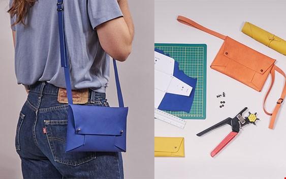 Win een DIY-kit van Monsak en maak (heup) tasje van gered leer!