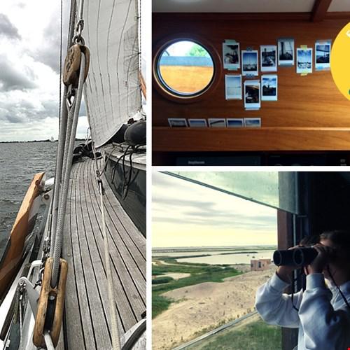 Heerlijk zeilen in Friesland. Rust en ruimte!
