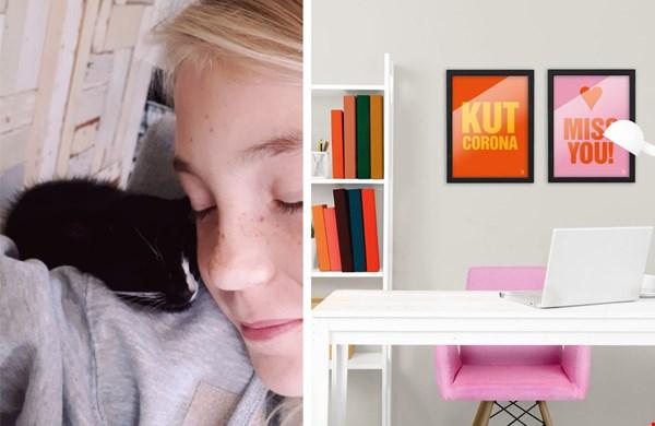 Mijn brugmug met kitten, en leuks voor aan de muur van arty-shock.nl