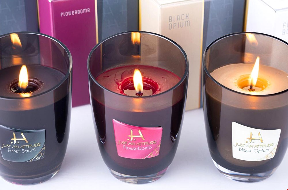 Just An Attitude Kaarsen met heerlijke geur Flavourites
