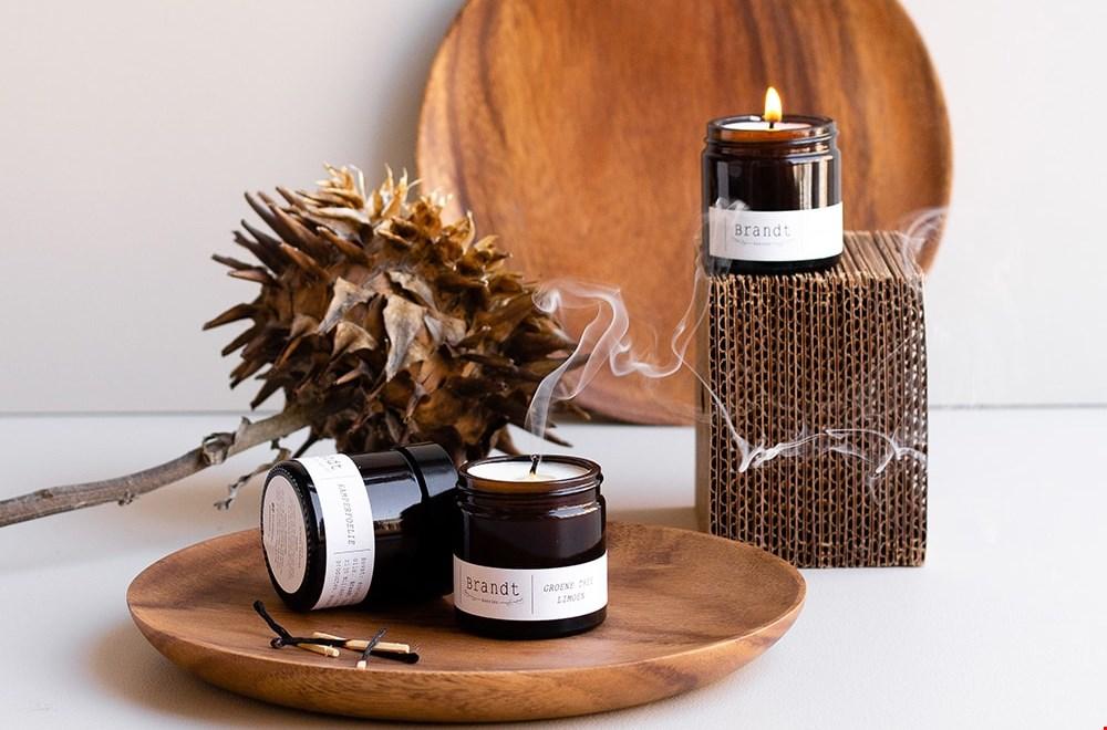 Duurzame en ambachtelijk gemaakte sojakaarsen van Brandt kaarsen