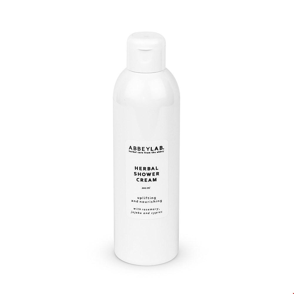 Herbal shower cream