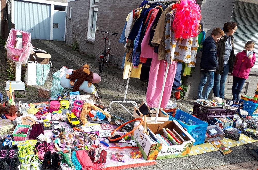 Verkoop je oude speelgoed op de vrijmarkt!