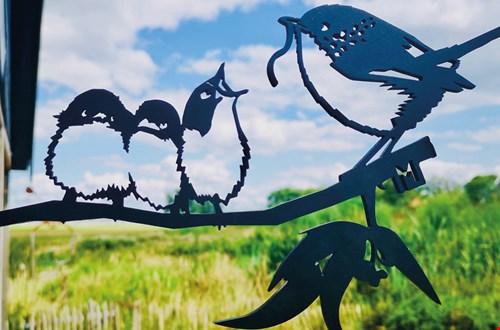 Metalbirds geven jouw tuin uitstraling!