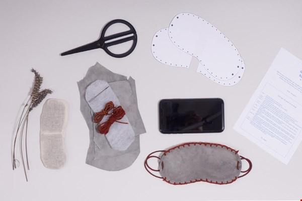 Win een DIY-kit van Monsak en maak zelf een oog/slaapmasker van gered leer!
