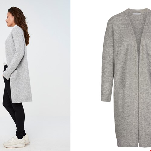 Nisa cardigan light grey
