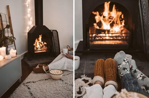 Een haard maakt je heerlijk warm en vrolijk
