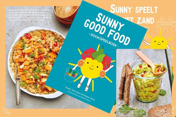 WIN het kookspeelboek Sunny Good Food!
