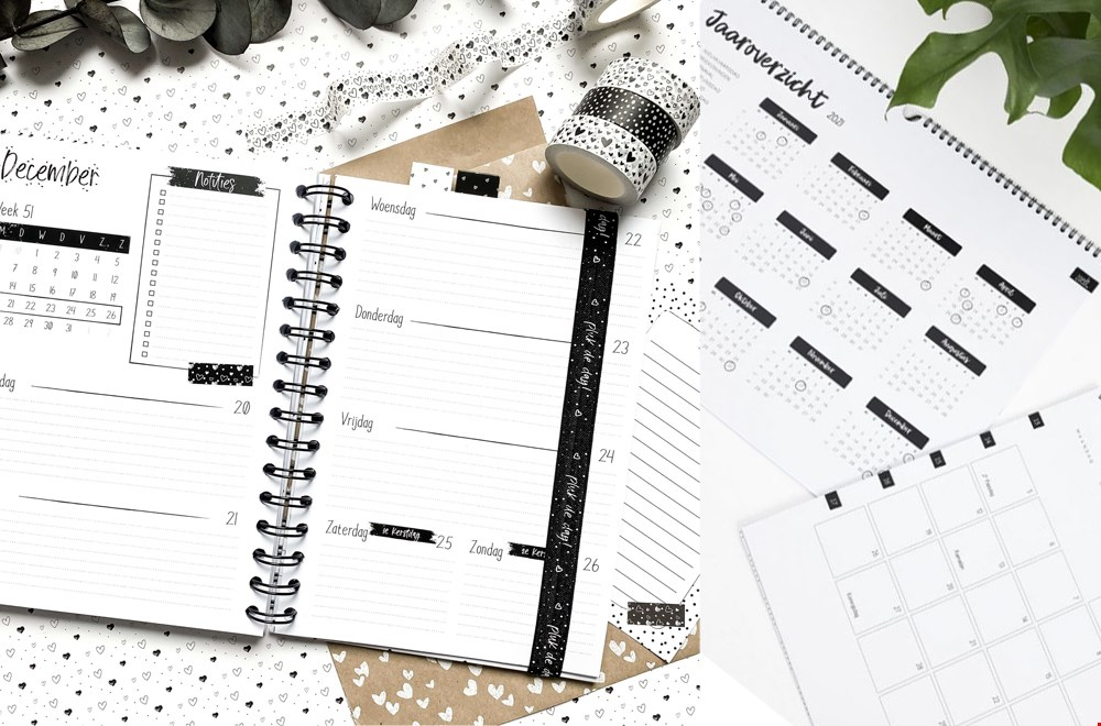 WIN een Winkeltje van Anne Jaaragenda en Zoedt Maandkalender voor 2021!