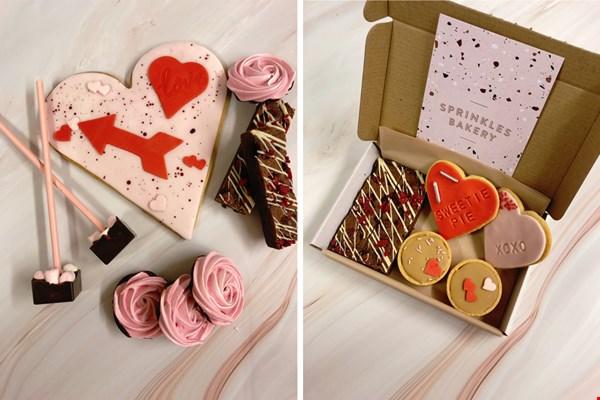Valentijnsbox van sprinkles bakery