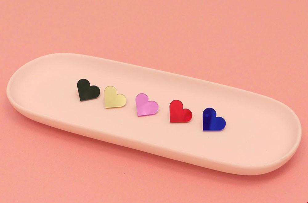 La Miésto Gekleurde Hartjes Pins Flavourites