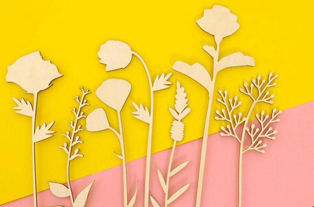 La Miésto Houten Bloemen Flavourites