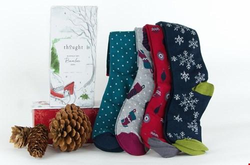 Feestje voor je voeten, deze bamboe sokken van Lotika