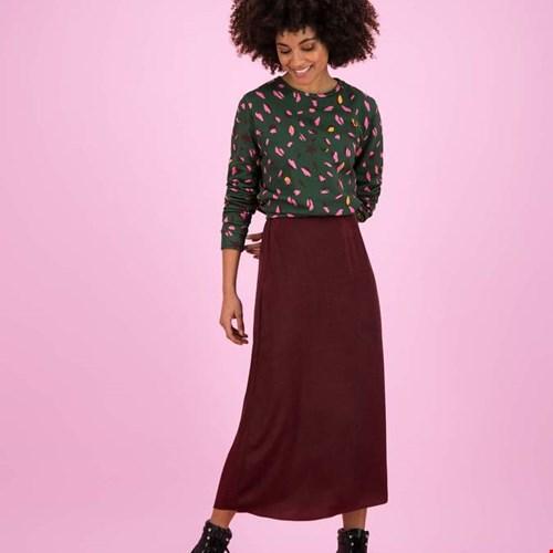 Skirt Party Bordeaux by Katja