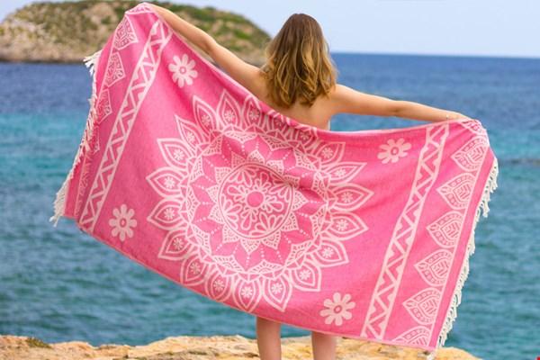 Hamamdoek roze Flavourites