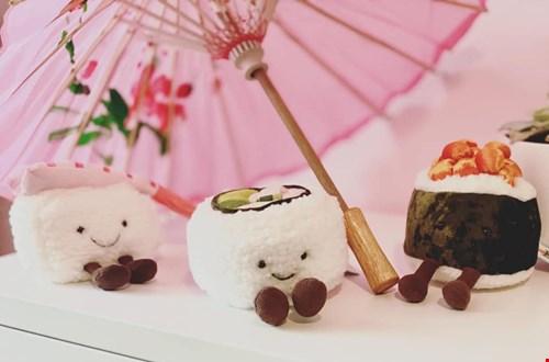 Ooit met sushi geknuffeld?