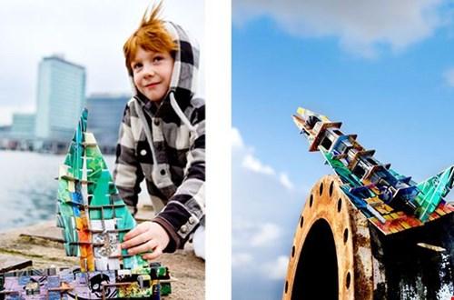 Stoere bouwpakketten van Kids on Roof