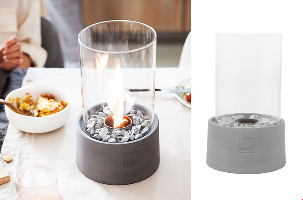 Echte vlammen, zonder stank of roet in de lucht!