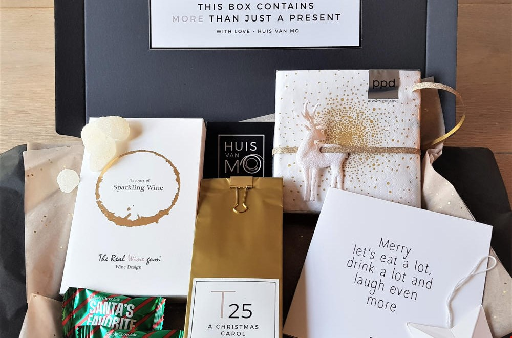 Fijne kerstpakketten van @huisvanmo