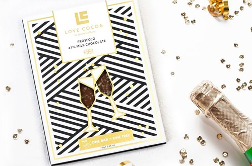 Prosecco en champagne chocolade @thewishlabel