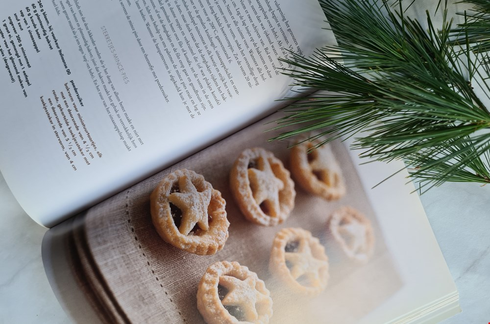 Star topped mince pies uit Engeland