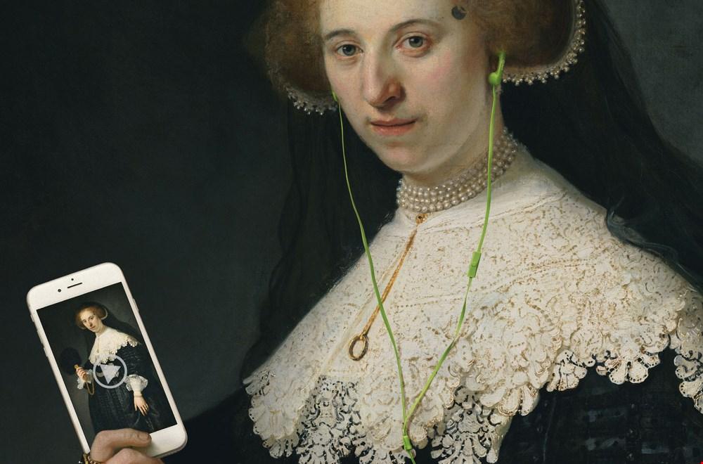 Heel veel musea hebben online tours, zoals het Rijksmuseum