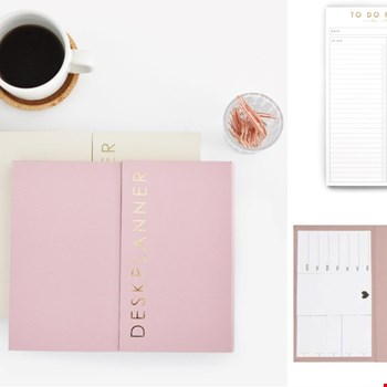 WIN één van de 4 To do planners én Deskplanners van HOP en make it happen!